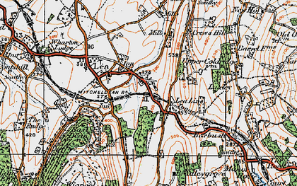 Old map of Aston Mills in 1919