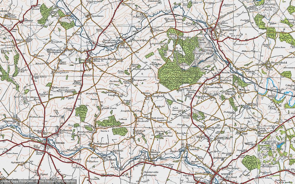 Leafield, 1919