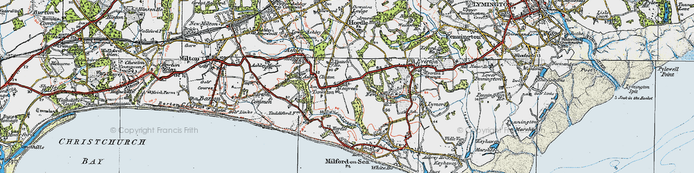 Old map of Yeatton Ho in 1919