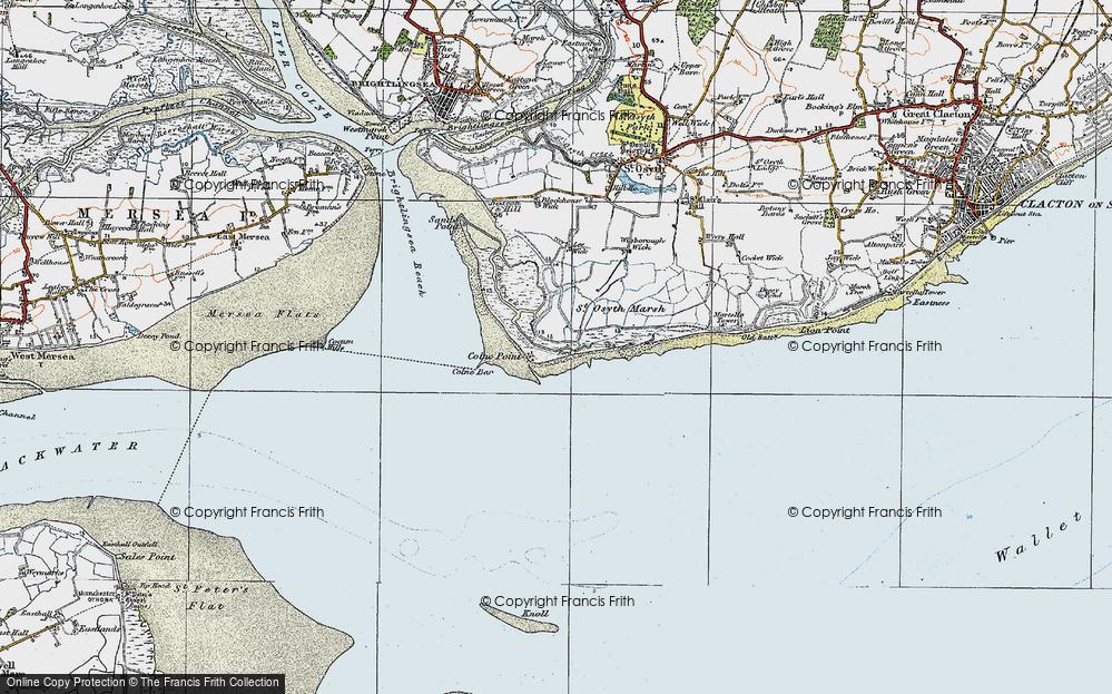 Lee-over-Sands, 1921