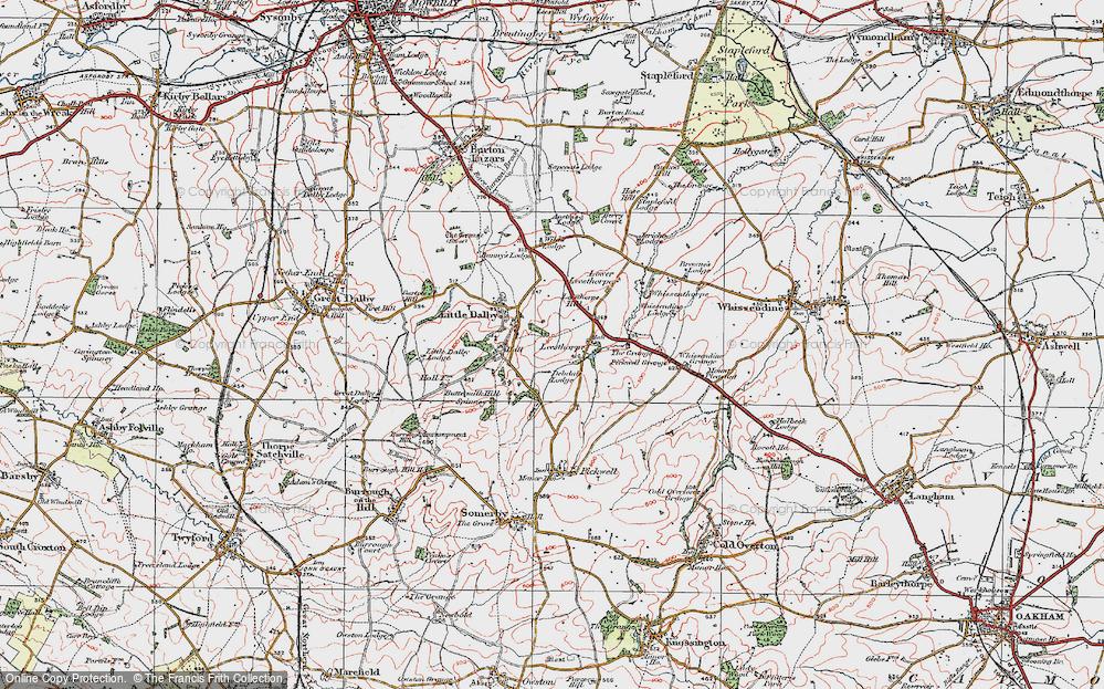 Leesthorpe, 1921