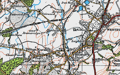 Old map of Leigh Park in 1919