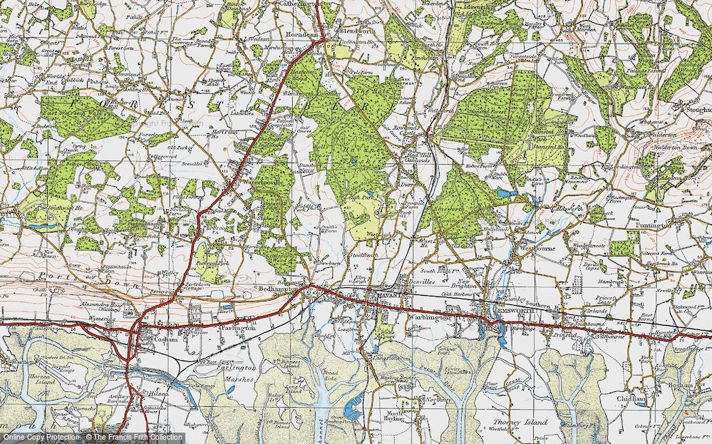 Leigh Park, 1919