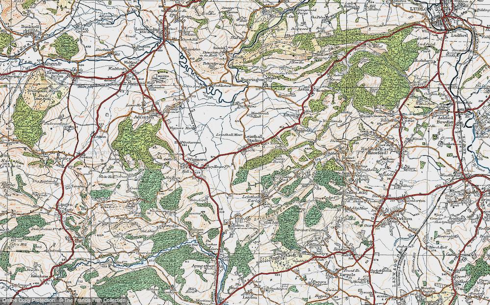 Leinthall Starkes, 1920