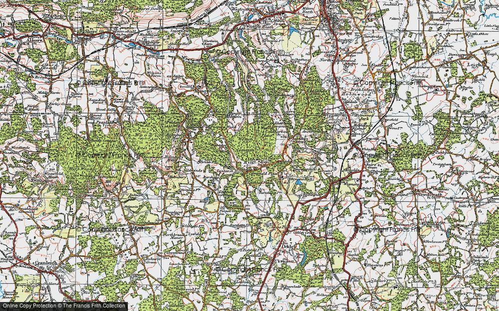 Leith Hill, 1920