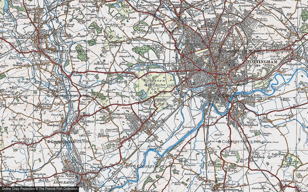Lenton Abbey, 1921