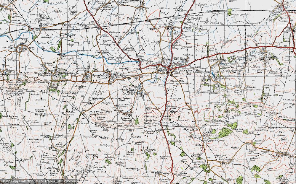 Letcombe Regis, 1919