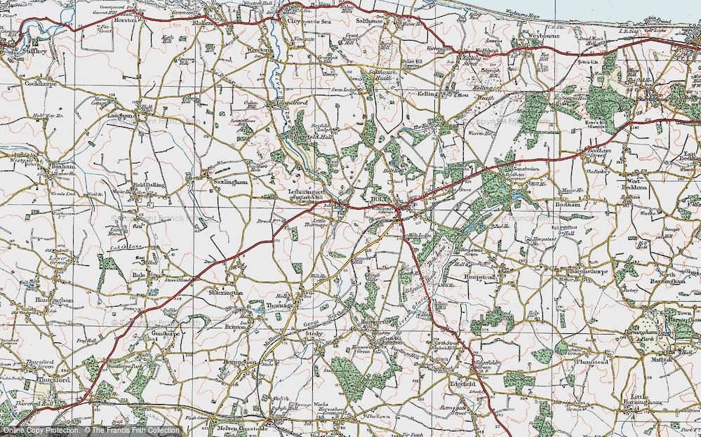 Letheringsett, 1921