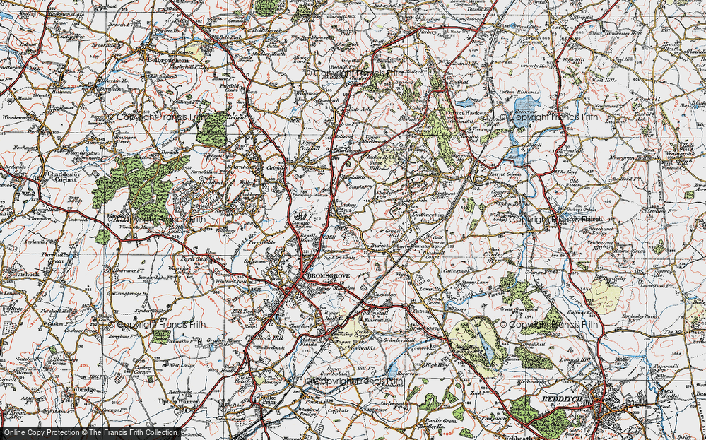 Lickey End, 1919