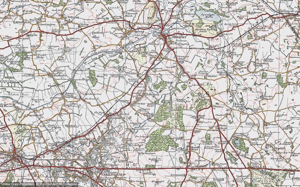 Lilleshall, 1921