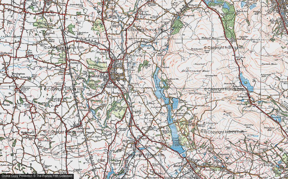 Old Map of Limbrick, 1924 in 1924