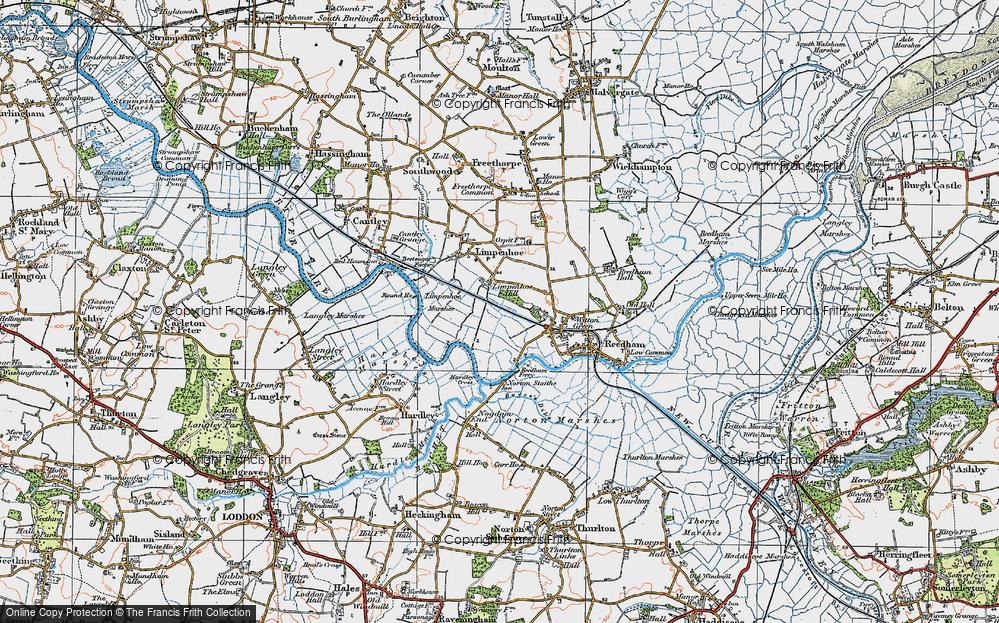 Limpenhoe Hill, 1922