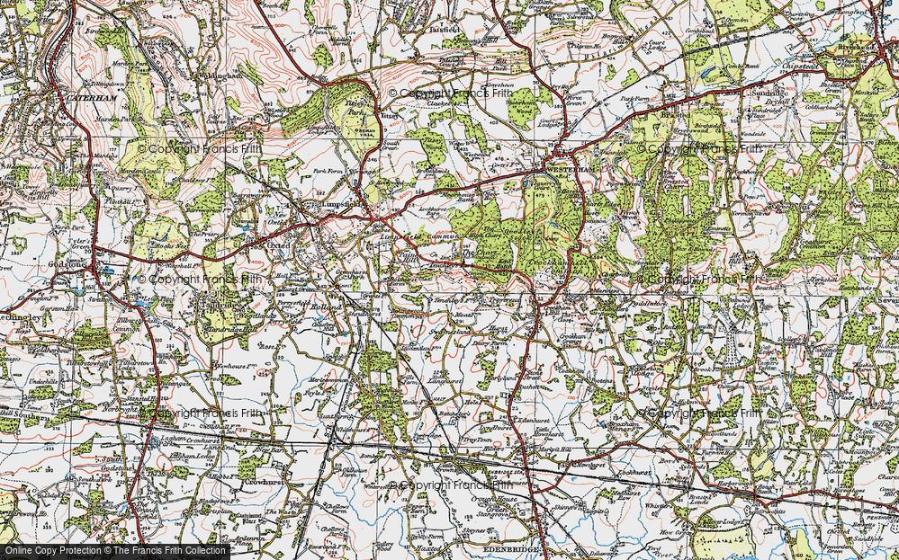 Limpsfield Chart, 1920