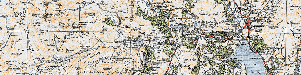 Old map of Wilson Place in 1925
