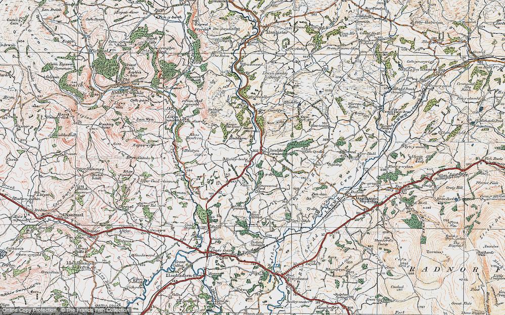 Llanddewi Ystradenni, 1920
