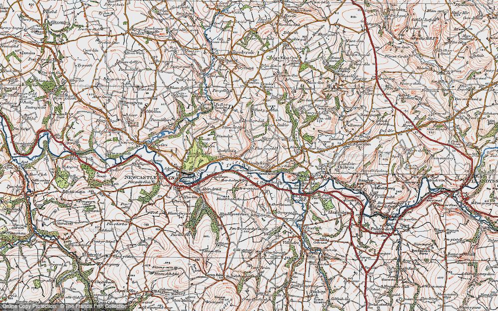 Llandyfriog, 1923
