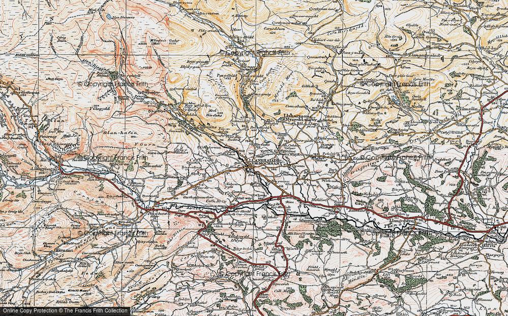 Llanrhaeadr-ym-Mochnant, 1921