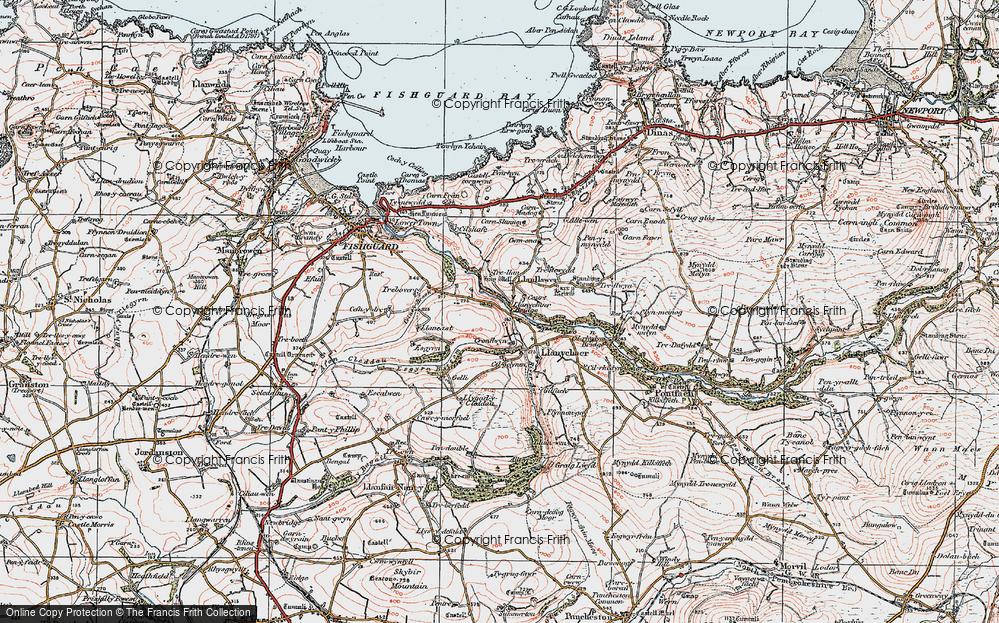 Llanychaer, 1923