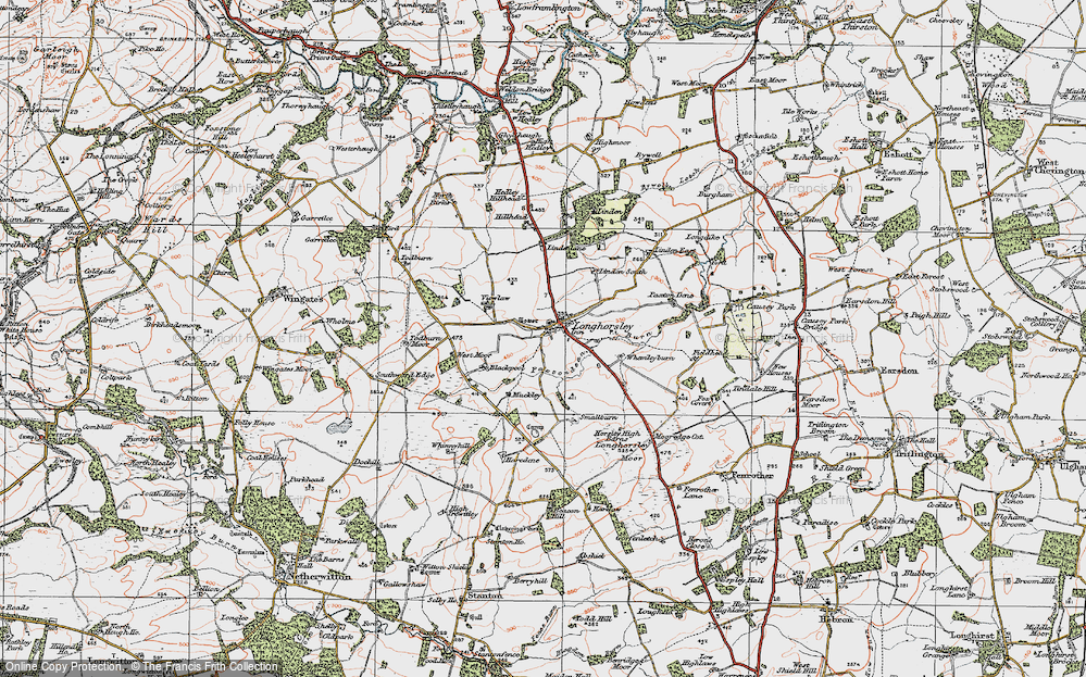 Longhorsley, 1925