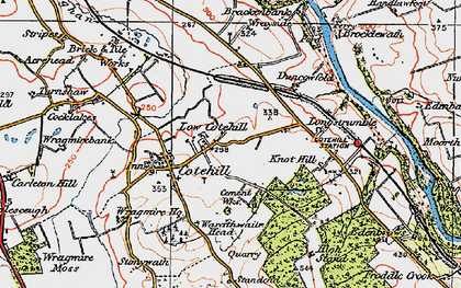 Old map of Wrayside in 1925