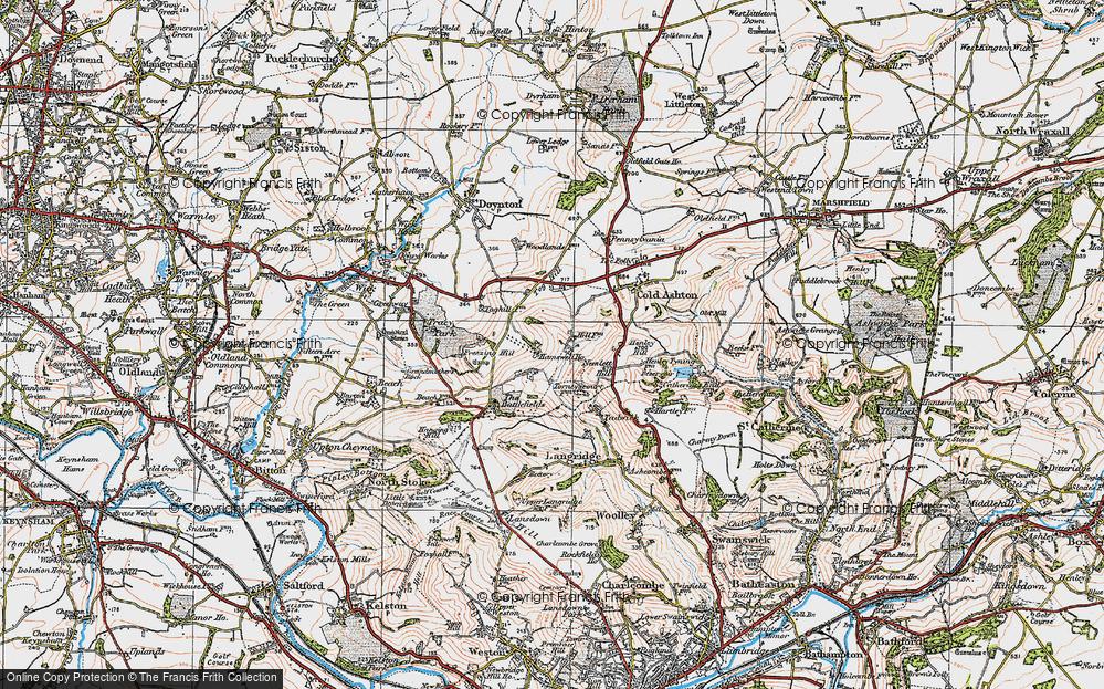 Lower Hamswell, 1919