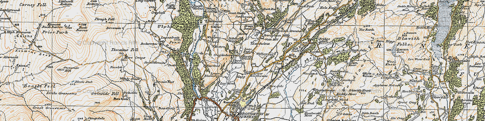 Old map of Whineray Ground in 1925
