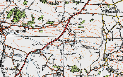 Old map of Aldwick Court in 1919