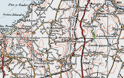 Old map of Blowinghouse in 1919