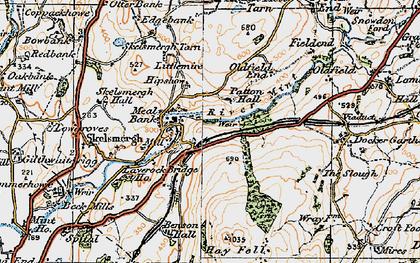 Old map of Laverock Bridge Ho in 1925