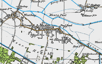 Old map of Abbot's Fish Ho in 1919