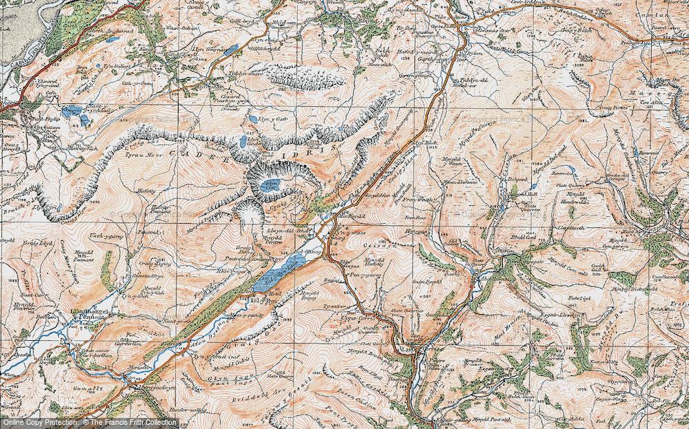 Minffordd, 1921