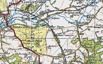Old map of Tolpits Ho in 1920