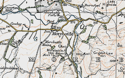 Old map of Linton in 1926