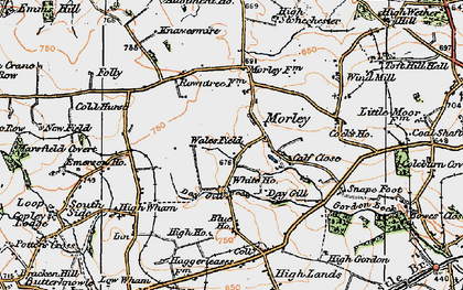 Old map of Wind Mill in 1925