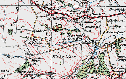 Old map of Nether Loads in 1923