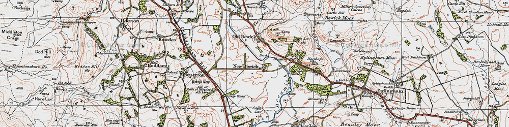 Old map of Tick Law in 1926