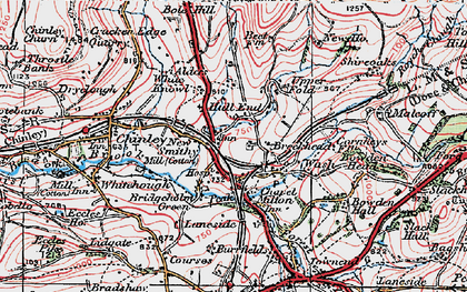 Old map of New Smithy in 1923
