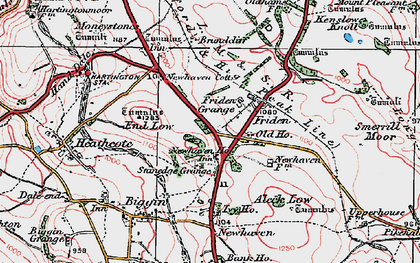 Old map of Aleck Low in 1923