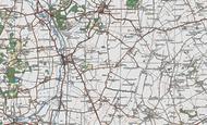 Map of Newton, 1919