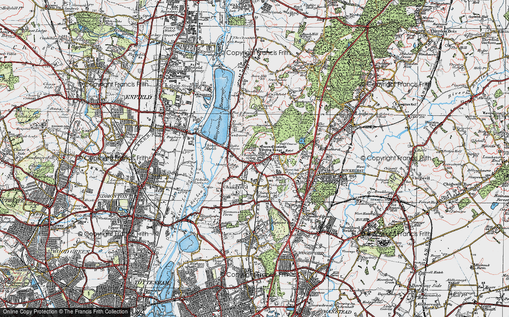 North Chingford, 1920