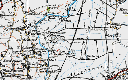 Old map of White's in 1919