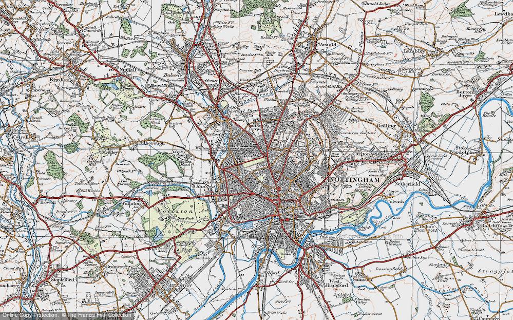 Nottingham, 1921