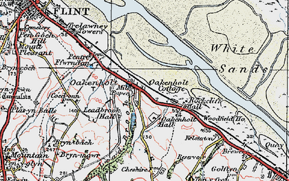 Old map of Lead Brook in 1924