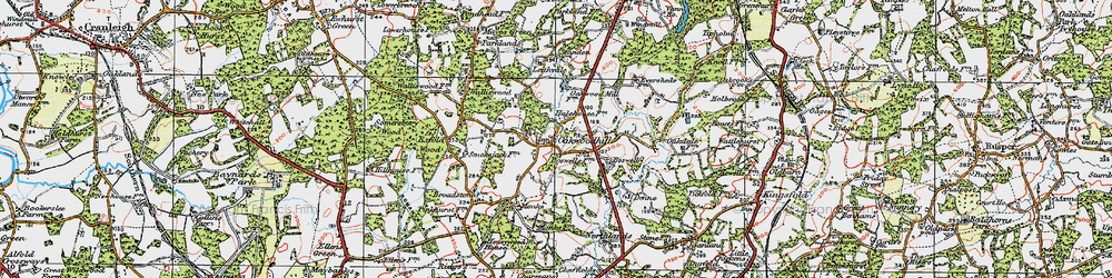 Old map of Leith Vale in 1920