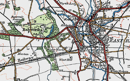 Old map of Whisker Hill in 1923
