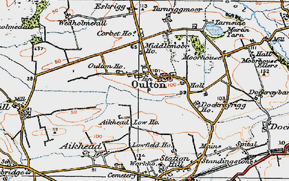Old map of Aikhead Low Ho in 1925