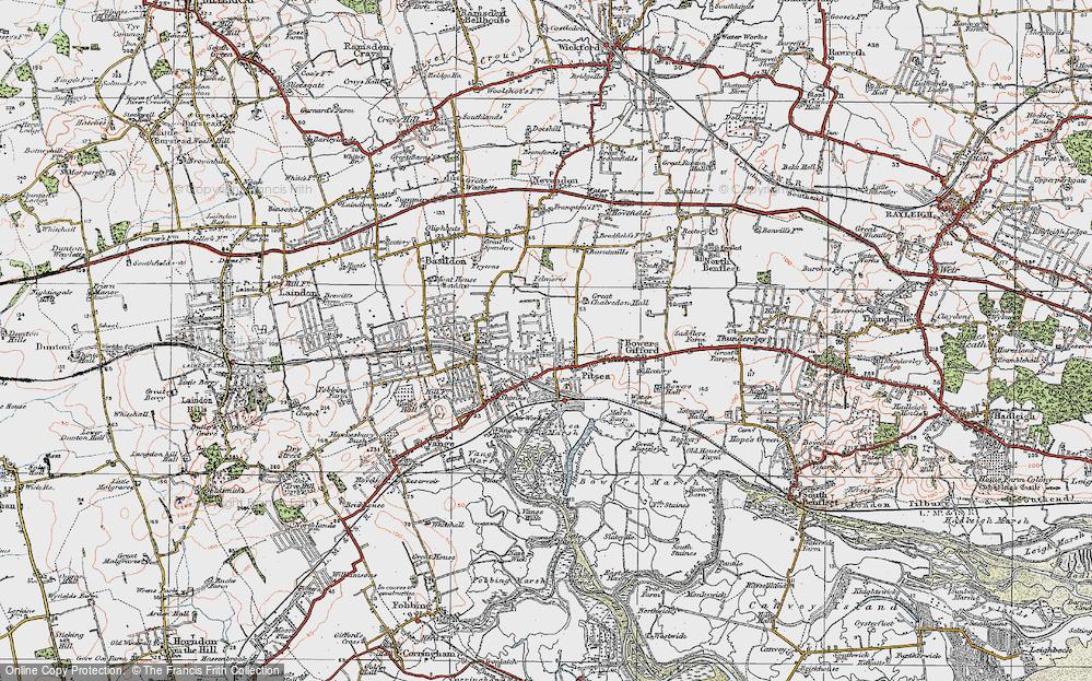 Pitsea, 1921