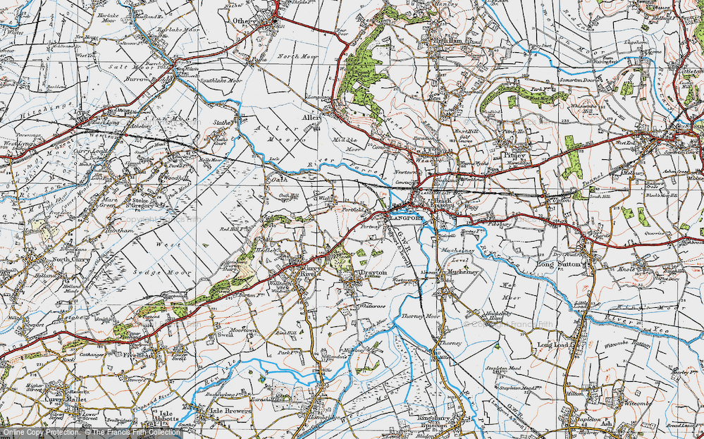 Old Map of Portfield, 1919 in 1919