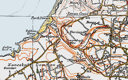 Old map of Tobban Horse in 1919