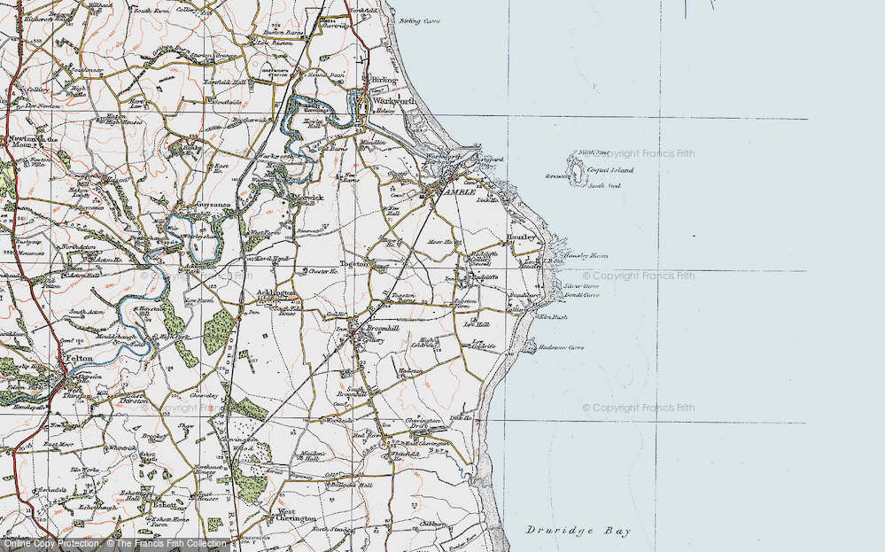 Old Map of Radcliffe, 1925 in 1925